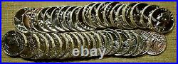 Roll of 40 Choice To GEM Proof 1958 Washington Quarters Some Cameos Included