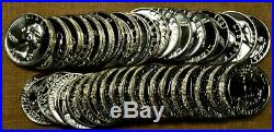 Roll of 40 Choice To GEM Proof 1961 Washington Quarters Some Cameos Included