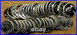 Roll of 40 Choice To GEM Proof 1963 Washington Quarters Some Cameos Included