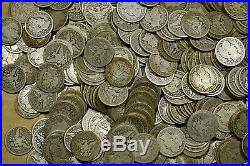 Roll of 40 Mixed 1892 1916 Good VG Barber Quarters No Culls / No Junk