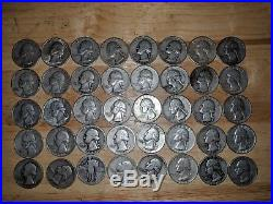 Roll of (40) Quarters 90% Silver