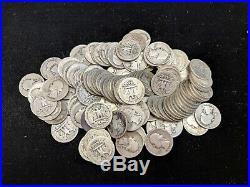 Roll of 40 Silver Quarters Pre 1964