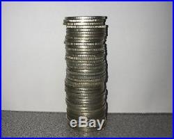 Roll of (40) Washington Quarters 90% Junk Silver $10 Face Value NEAR SPOT