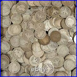 Roll of Barber Quarters 90% Silver Mixed Dates $10 Face Value