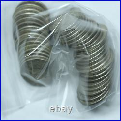 Roll of Silver Washington 90% Silver Quarters 10$ Face Value Avg Circ No Culls