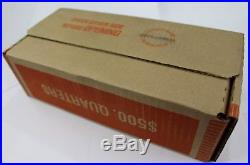 SEALED $500 FV 90% Silver Quarters Box Lot 50 Rolls Washington Barber Roll P D S
