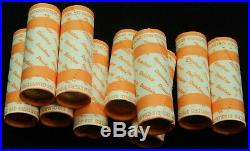 Silver Quarter Roll 90% From Dunbar Hoard Quarters $10 Old Coin Lot Mixed Date
