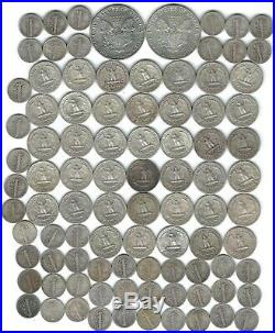 Sound Investment Roll Silver Quarters Mercury Dimes 2 Silver Eagles