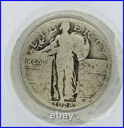 Standing Liberty Quarter 1/2 Roll Silver $5 20 Coins 1916-1930 FULL DATE WithTUBE