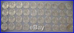 Uncirculated 1964 D Washington Quarter Roll (40 Coins) Nice Coins Item# 5553
