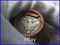 Vintage Sealed Unsearched Silver Quarter Roll Barber Quarter Ends U. S. Coin Lot