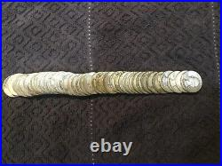 WASHINGTON QUARTERS $10 Face Value 90% Silver 40/Roll 1950-1959 only
