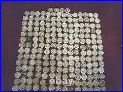 Washington Quarters $50 Face Value 90% Silver 5 Rolls Of 40 Bulk Lot 200 Coins