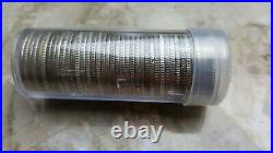 Washington SILVER Quarters Full Date Roll Of 40x 90% Silver Coins $10 FV